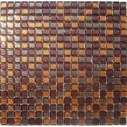 Maxwhite JSM-ZL010 Mozaika skleněná perleť oranžová hnědá 29,7x29,7cm