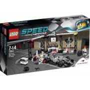 LEGO Speed Champions McLaren Mercedes Pit Stop - 75911