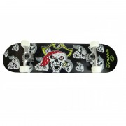 "Skateboard 31"" Utop Board Skull Pirate"