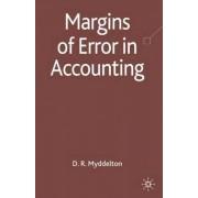 Margins of Error in Accounting by David R. Myddelton