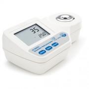 Refractómetro digital de Salinidad/Sal Hanna (HI 96822)