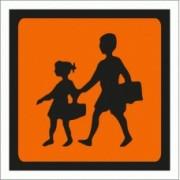 Transporte de Crianças para veículos ligeiros - Vinil Autocolante