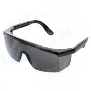 Al aire libre Proteccion UV400 Lente PC Riding Gafas de sol - Negro