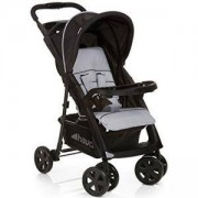 Детска количка Shopper Comfortfold Black and Silver, Hauck, 352452