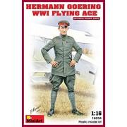 """Miniart 1: 16 escala Kit de modelo de plástico """"Hermann Goering Ww1 Flying Ace"""
