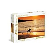 Clementoni 30475.2 Jigsaw Puzzle High Quality Collection 500 T Tour Classic Sunset