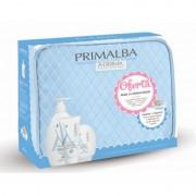 A-Derma Primalba Mala Maternidade Azul- contém Primalba gel lavante 500ml+Primalba creme zona da fralda 100ml+Primalba creme suave cocon 100ml