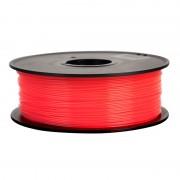 Filament pentru Imprimanta 3D 1.75 mm PLA 1 kg - Rosu Fluorescent