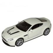 Auto 1:34 Welly Aston Martin V12 Vantage šedý
