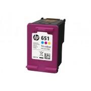 HP 651 Tri-color Original Ink Advantage Cartridge (C2P11AE-302)