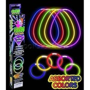 Fun Central M614 Glow in the Dark Bracelet and Necklace Kit