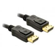 Delock Cable Displayport 3m male - male Gold 82424