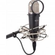 Microfono De Estudio Samson Mtr101a Con Filtro Y Montura - negro