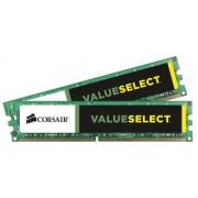 Corsair CMV16GX3M2A1333C9 Value Select Memoria per Desktop Mainstream da 16 GB (2x8 GB), DDR3, 1333 MHz, CL9