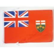 Drapeau Ontario 45x30cm - Pavillon Canadien - Canada 30 X 45 Cm Haute Qualité