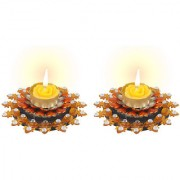 Sukkhi Best Selling Candle Diya In Bright Yellow