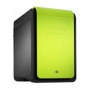 Gabinete Aerocool DS Cube Green, micro-ATX/mini-iTX, USB 2.0/3.0, sin Fuente, Verde