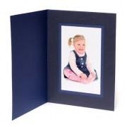 7x5 / 5x7 Blue Karnival Photo Folder - Portrait