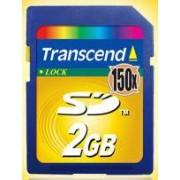 Transcend Secure Digital Card 2GB - 150x Ultra Speed