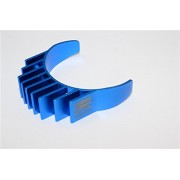 Aluminium Motor Heat Sink Mount 10mm For 1/10 05, 540, 360 Motor - 1Pc Blue
