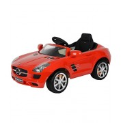 Toyhouse Officially Licensed Mercedes-Benz SLS AMG 6V Rechargeable Battery Operated Ride On Red