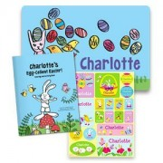 Egg-Cellent All-in-One Easter Gift Set Personalized Coloring Book