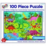 Galt Toys - Dinosauri Puzzle, Multicolore (100-Piece)