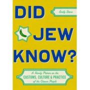 Did Jew Know? by Emily Stone