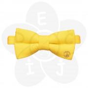 Žuta leptir mašna