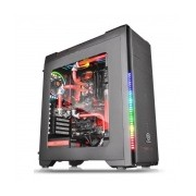 Gabinete Gamer Thermaltake C21 RGB con Ventana, Midi-Tower, ATX/micro-ATX/mini-iTX, USB 2.0/3.0, sin Fuente, Negro