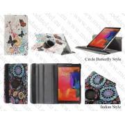 Samsung Galaxy Tab S 8.4 T700 T705 - кожен калъф 'ROTATE COLOR STYLE'