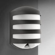 Philips myGarden Foliage Wandleuchte m. Bewegungsmelder B: 16,9 H: 25,3 cm, anthrazit/weiß 169389316, EEK: A+. Diese Leuchte ist geeignet für Leuchtmittel der Energieklassen: A+, A, B, C, D, E. Die Leuchte wird verkauft mit einem Leuchtmittel der Energiek