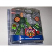 Playskool Major Powers and The Star Squad Sergeant Powerhouse Walker Action Figure Land Power Division Playset