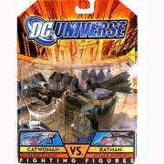 DC Universe: Fighting Figures Catwoman vs Batman Action Figure 2-pack by DC