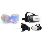CLONEBEATZ Music Mini Bluetooth Speaker(S10 Speaker) And VR Box for SAMSUNG GALAXY A9 PRO