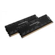 HyperX HX321C11PB3K2/8 Predator Black Modulo di Memoria da 8 GB, Kit da 2x4 GB, 2133 MHz, DDR3 CL11 DIMM