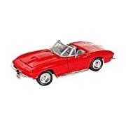 "Motormax GOTZMM73224RD 1:24 Scale Red ""1967 Chevrolet Corvette"" Die Cast Model Car"