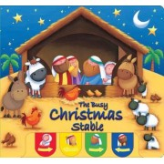 The Busy Christmas Stable by Juliet David
