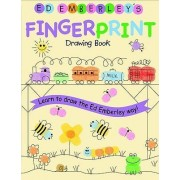 Ed Emberley Fingerprint Drawing Book by E. Emberley