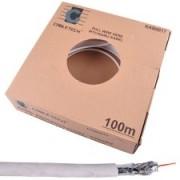 CABLU COAXIAL TRI-SHIELD MIEZ CUPRU 100M KAB0017