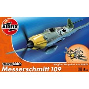 Airfix J6001 - Modellino Messerschmitt 109 Quick-Build