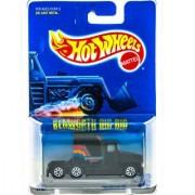 Hot Wheels 1995 Kenworth Big Rig Black Truck Card 76