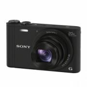 Sony DSC-WX350B negru - 18,2 Mpx, zoom optic 20x, Wi-Fi, NFC