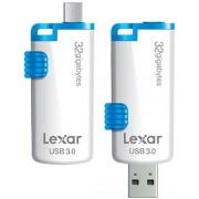 Lexar M20 JumpDrive USB 3.0 - 32GB USB-stick - Wit