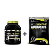 BioTech USA Akciový balíček Creatine Monohydrate 500g dóza + 500g sáčok