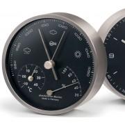Barigo 101.5 - Modern Home Barometer Low Altitude (Black Dial)