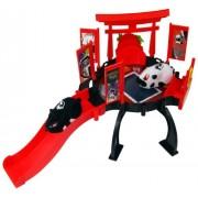 Kung Zhu Pets 2878 - Cuartel general para hámster, color rojo