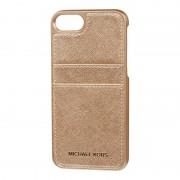 MICHAEL Michael Kors iPhone Case mit Besatz aus Saffianoleder