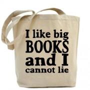 big CafePress I like libros o I no se puede cobrado o bolsa para herramientas de - estándar Multi-color