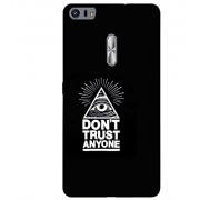 PrintVisa Designer Back Case Cover for Asus Zenfone 3 Ultra ZU680KL (6.8 Inch Phablet) (Trust quote design :: Disturb quote design :: Assurance quote design :: Faith quotes :: Don't trust anyone design)